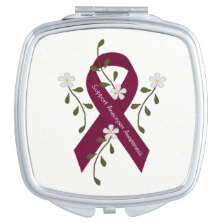 Aneurysm Awareness Compact Mirror