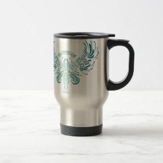 Ange bleu tasse à café