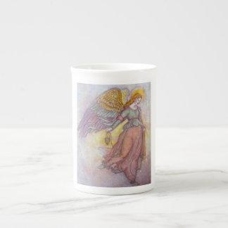 Ange, dans la lumière mug en porcelaine