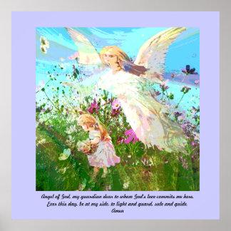 Ange de Dieu, mon gardien cher Poster