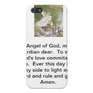 Ange de Dieu mon gardien cher ! Coque iPhone 5