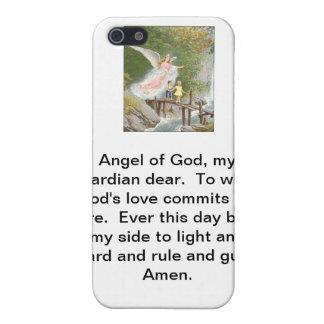 Ange de Dieu mon gardien cher ! Étuis iPhone 5