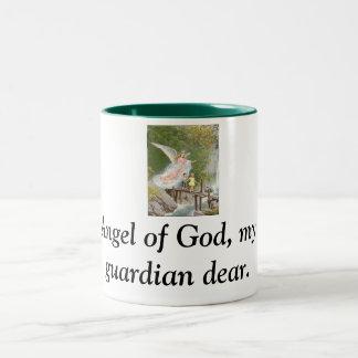 Ange de Dieu mon gardien cher ! Tasse