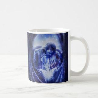 Ange de Falln dans le bleu Mug