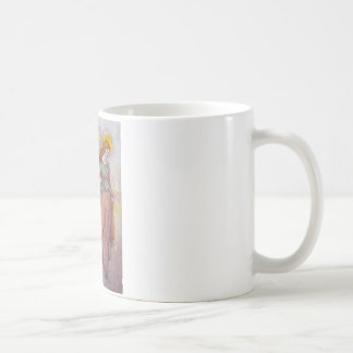 Ange de lumière de guidage mug blanc
