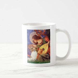Ange de mandoline - Papillon 4 Mugs À Café