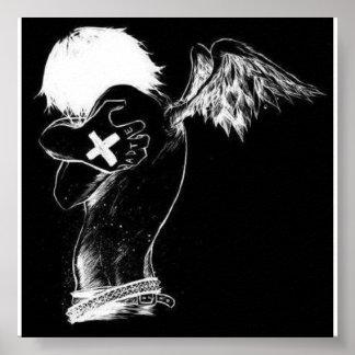 ange d'emo poster