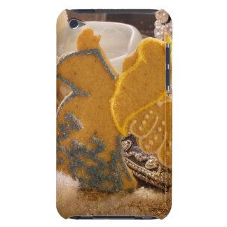 Ange doux de pâtisserie avec la décoration de étui iPod touch