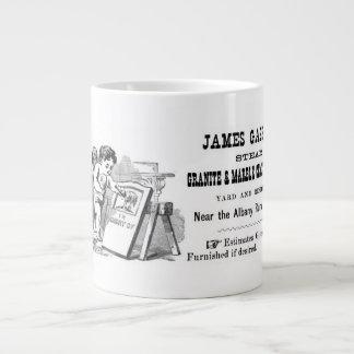 Ange et pierres tombales mug
