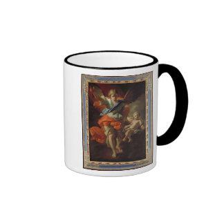 Ange gardien, c.1685-94 tasse à café