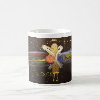 Ange gardien mug blanc