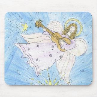 Ange musical tapis de souris