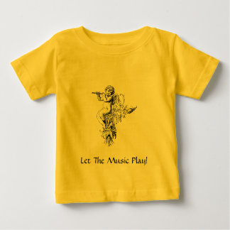 Angel4, Let The Music Play! Baby T-Shirt