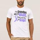 Angel 1 Grandpa Esophageal Cancer T-Shirt
