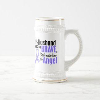 Angel 1 Husband Stomach Cancer Beer Steins