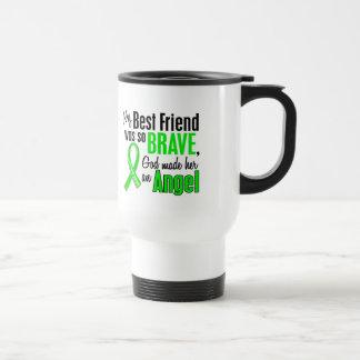 Angel 1 Muscular Dystrophy Best Friend (Female) 15 Oz Stainless Steel Travel Mug