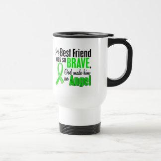 Angel 1 Muscular Dystrophy Best Friend (Male) 15 Oz Stainless Steel Travel Mug