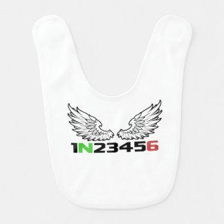 angel 1N23456 Bibs