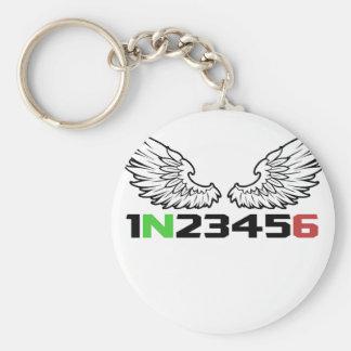 angel 1N23456 Keychain