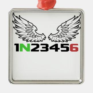 angel 1N23456 Metal Ornament