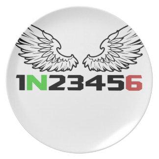 angel 1N23456 Plate