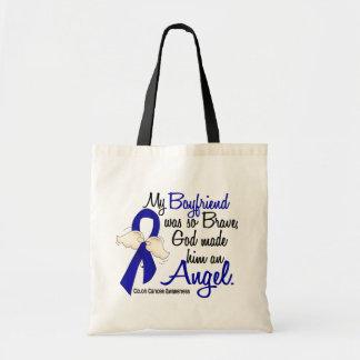 Angel 2 Boyfriend Colon Cancer Canvas Bags