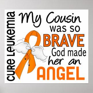 Angel 2 Cousin Female Leukemia Print