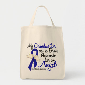 Angel 2 Grandmother Colon Cancer Bags