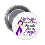 Angel 2 Grandpa Pancreatic Cancer Pins