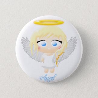 Angel 2 Inch Round Button