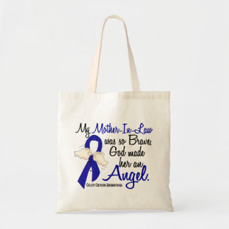 Angel 2 Mother-In-Law Colon Cancer Bags