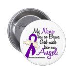 Angel 2 Nana Pancreatic Cancer 2 Inch Round Button