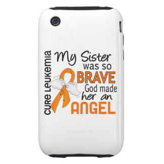 Angel 2 Sister Leukemia iPhone 3 Tough Cover
