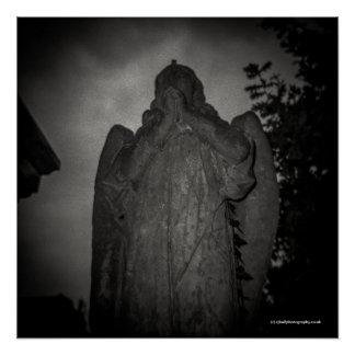 Angel, Abney Park, London. Toy Camera Poster