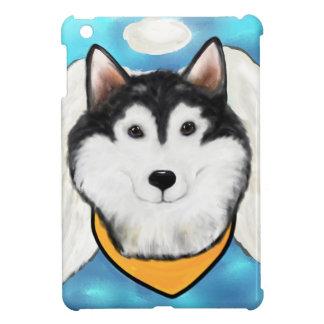 Angel Alaskan Malamute iPad Mini Cases