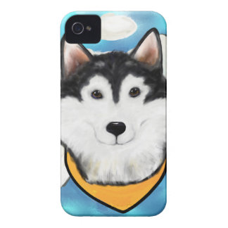 Angel Alaskan Malamute iPhone 4 Cover