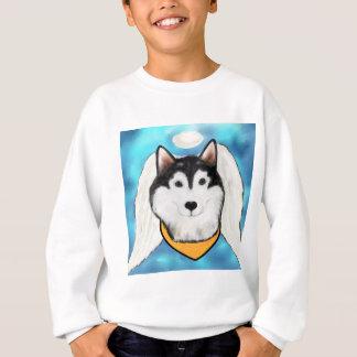 Angel Alaskan Malamute Sweatshirt