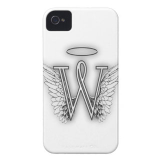 Angel Alphabet B Initial Letter Wings Halo iPhone 4 Case-Mate Case
