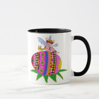 Angel and a Pysanka Mug