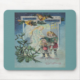 Angel and Children Mouse Pads
