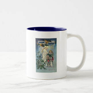 Angel and Children Mugs