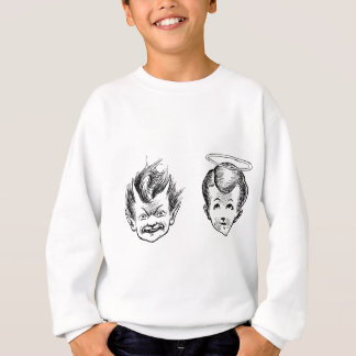Angel and Devil kids Sweatshirt