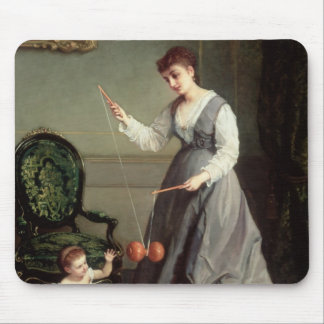 `Angel and Devil' or `Playing Diabolo Mouse Pad