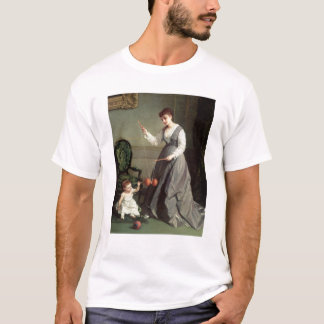 `Angel and Devil' or `Playing Diabolo T-Shirt