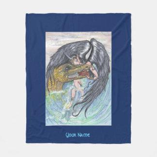 Angel and Dragon Fleece Blanket
