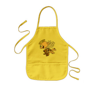 Angel and Teddy Bear Kids Apron