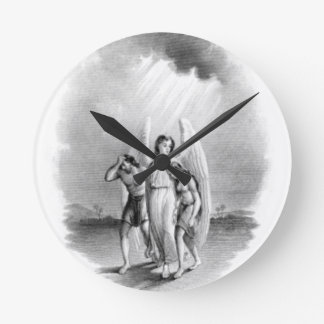 Angel Archtype Round Clock