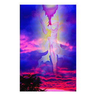 Angel Ascension Day light and energy Stationery