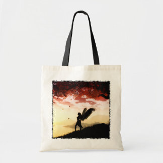 Angel at Dawn Tote Bag