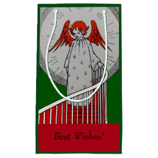 Angel at the Top of the Stairs Small Gift Bag
